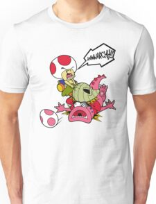 Toad's Vegetable Fury! Unisex T-Shirt