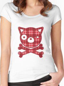 BlackJack(Dog) Women's Fitted Scoop T-Shirt