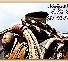Feeling Down,  Saddle Up by Barbara  Jean