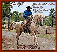 A True Cowboy by Barbara  Jean