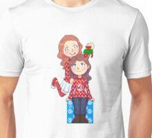 Merry Christmas,awesome nerd .no background Unisex T-Shirt