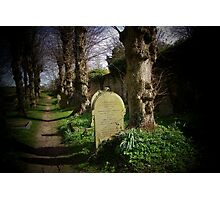 Burford Church Yard Photographic Print