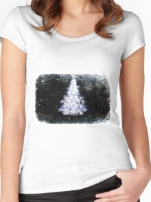 All is calm. Women's Fitted Scoop T-Shirt