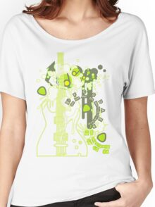 GUITAR-POP TUNES Women's Relaxed Fit T-Shirt
