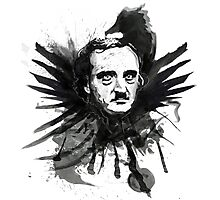 Edgar Allen Poe's Inkwell Photographic Print