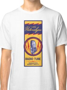 Radio Tube Box Classic T-Shirt