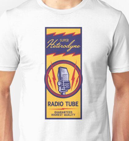 Radio Tube Box Unisex T-Shirt