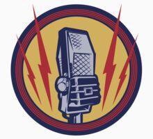 Vintage Microphone by dieselpunk
