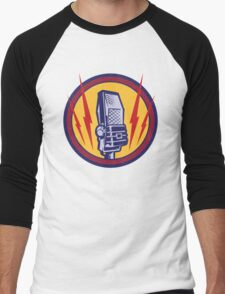 Vintage Microphone Men's Baseball ¾ T-Shirt