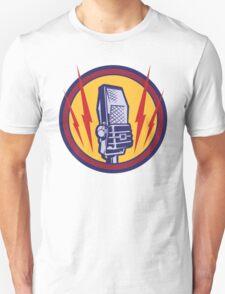 Vintage Microphone Unisex T-Shirt