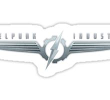Dieselpunk Industries Metal Logo Sticker