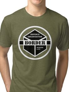 Anime - Border Emblem Tri-blend T-Shirt