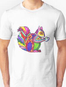 Colorblock Squirrel Unisex T-Shirt