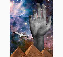 Galaxy Pyramid Hand Unisex T-Shirt
