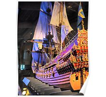 "The Vasa""  ( 4 ) A Scale Model Poster"