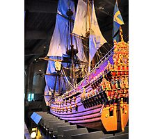 "The Vasa""  ( 4 ) A Scale Model Photographic Print"