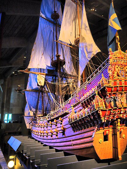 """The Vasa""""  ( 4 ) A Scale Model by Larry Lingard-Davis"""