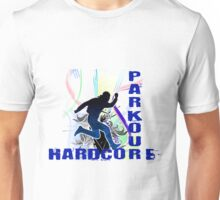 Free Running Parkour Hardcore Unisex T-Shirt