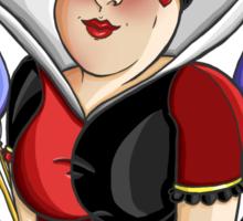 Queen of Hearts - Alice in Wonderland  Sticker