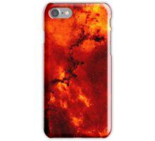 Red Galaxy iPhone Case/Skin