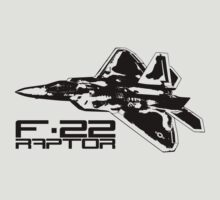 F-22 RAPTOR by deathdagger