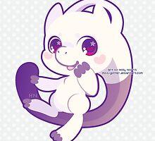Mewtwo by cutegalaxy