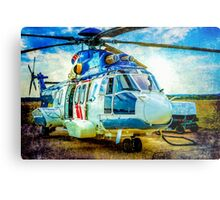 H225 Helicopter Metal Print