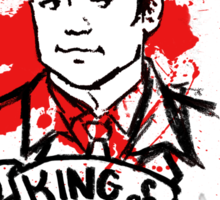 Crowley Is Our King v2 Sticker