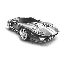Ford GT by BenLindsay