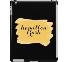 Hamilton Trash - Watercolor Splash iPad Case/Skin