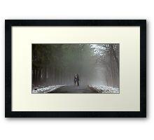 A Kiss in the Mist Framed Print