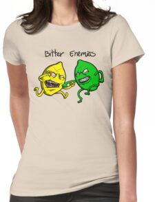 Bitter Enemies Womens Fitted T-Shirt