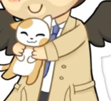 Cas Supernatural Chibi Sticker