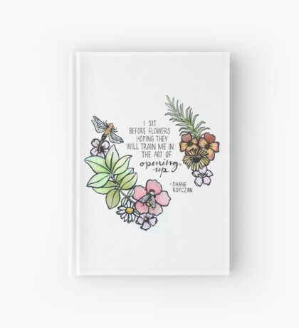 Opening Up Hardcover Journal
