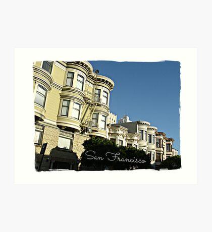 """ San Francisco "" Art Print"