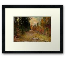 Fall Tradition Framed Print