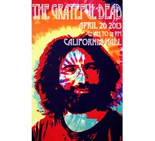 Grateful Dead California Hall Poster Photographic Print