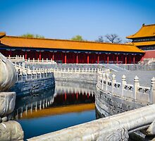 Forbidden City, Beijing. by Jo-Anne Clifford