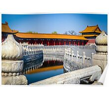 Forbidden City, Beijing. Poster