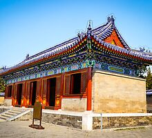 Forbidden City, Beijing. by Jo-Anne Clifford
