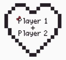 Player 1 (Girl) Loves Player 2 (Boy) by GensIota