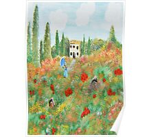 My Field Of Poppies Poster