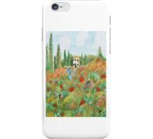 My Field Of Poppies iPhone Case/Skin