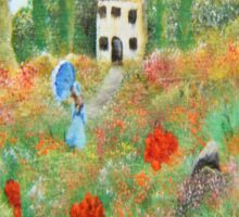 My Field Of Poppies Sticker
