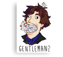 Gentleman Canvas Print