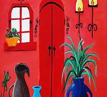 Mi Casa by SherryAllenArt