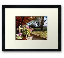 ©MS From The Cabin IA Framed Print
