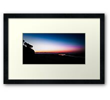 Berarra Beach in the blue hour Framed Print