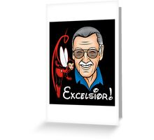 Excelsior! Greeting Card
