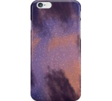 Sunset Space Paint iPhone Case/Skin